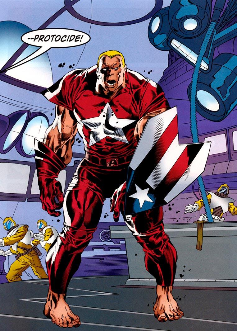 Clinton McIntyre, o Protocide Marvel Comics