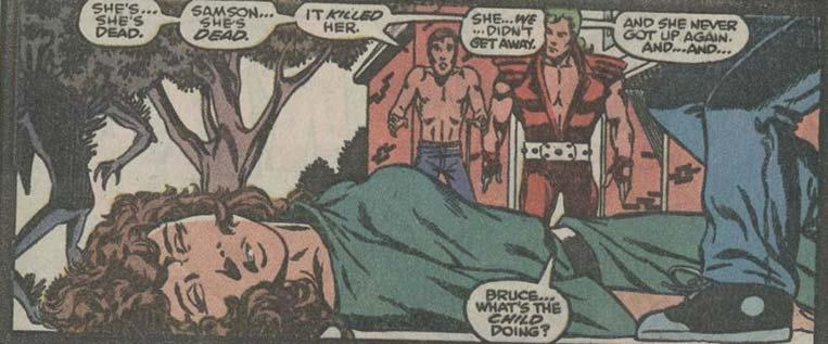 Rebecca Banner é morta por Brian Banner