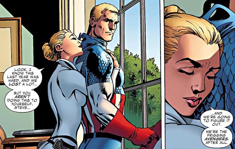 Sharon Carter e Capitão América