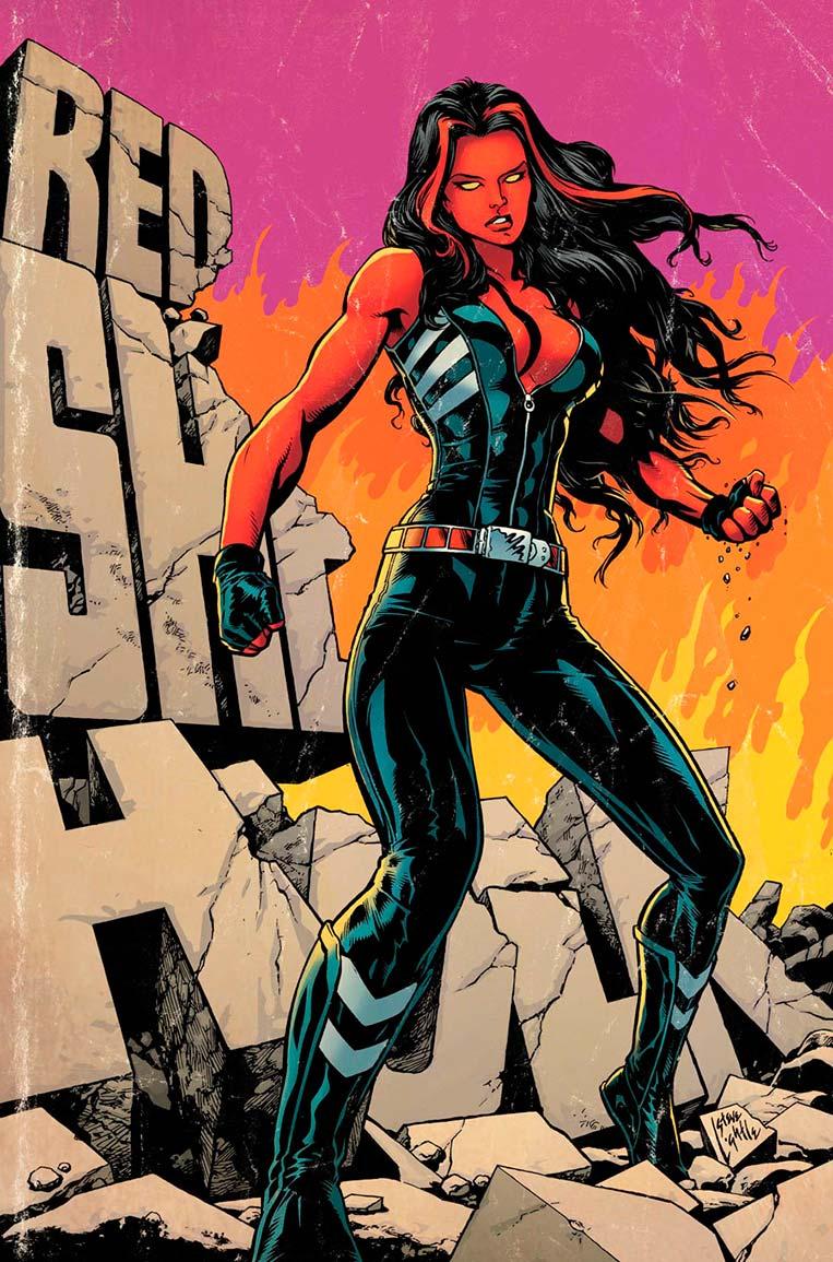 Betty Ross, a She-Hulk vermelha
