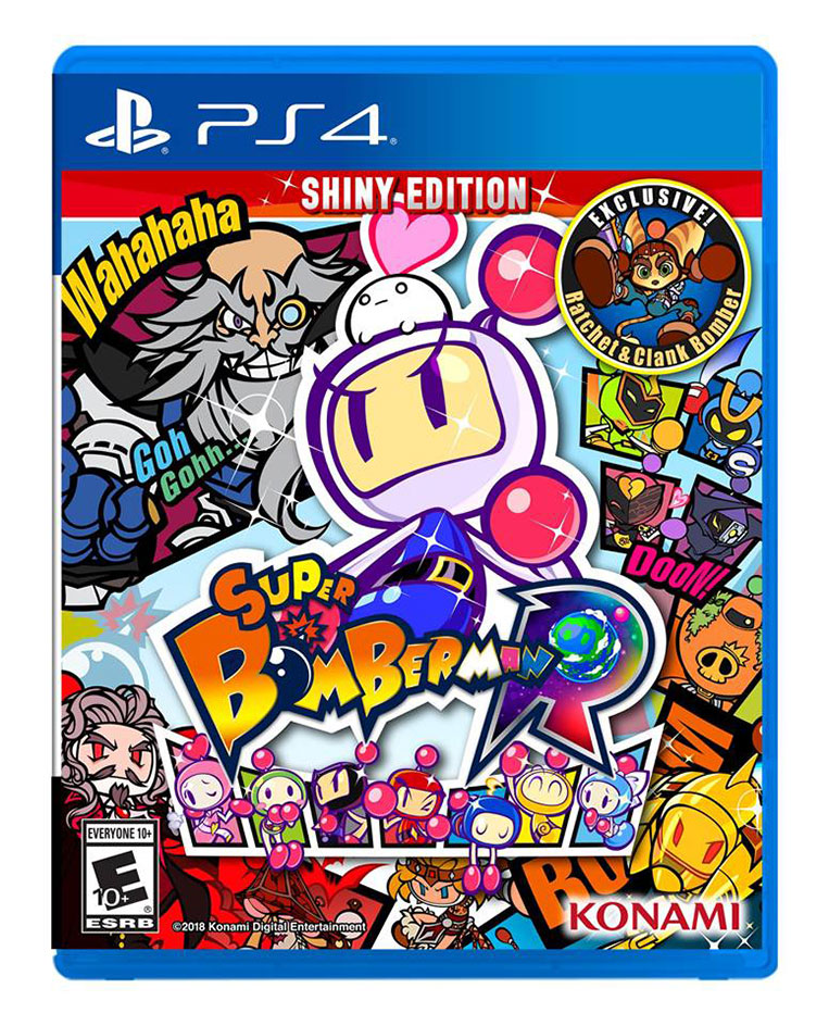 Capa Super Bomberman R PlayStation 4