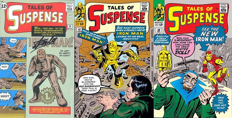 Tales of Suspense #39 #40 e #48