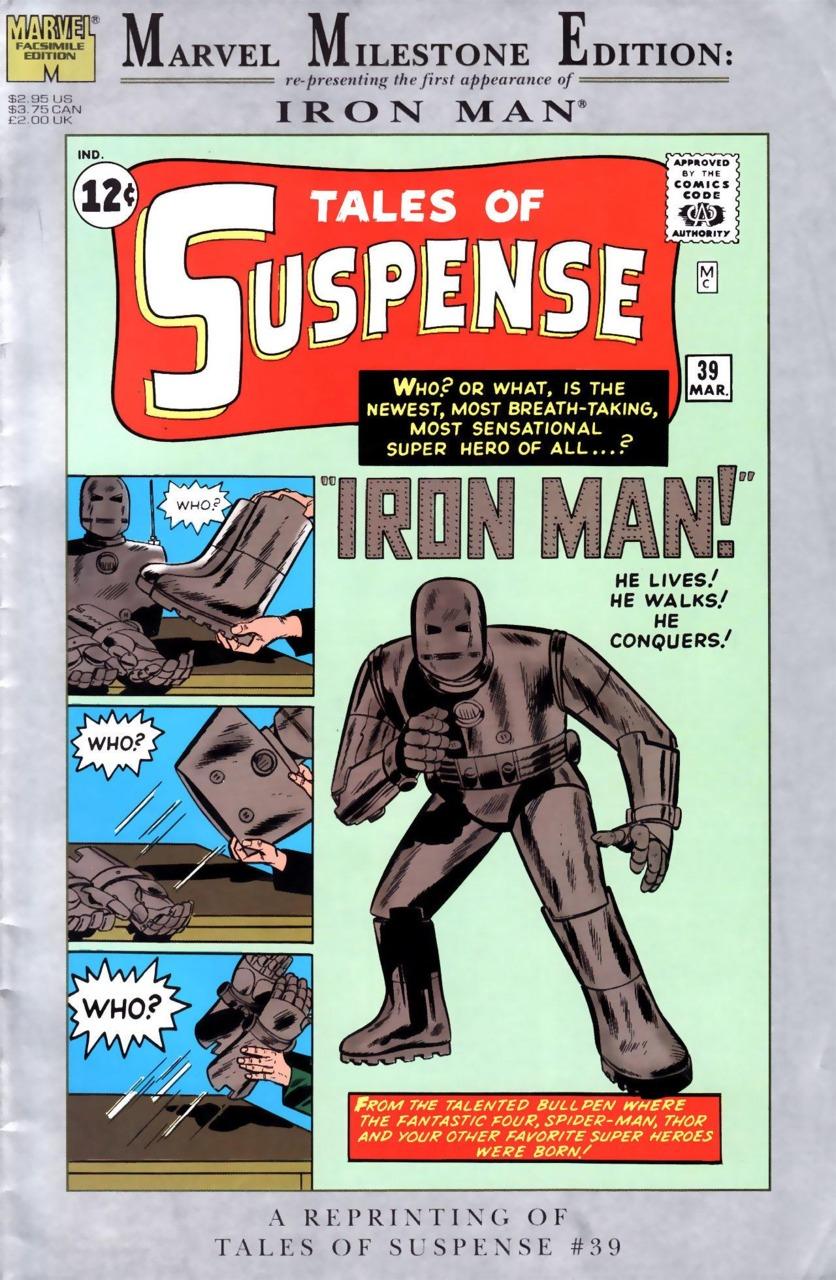 Tales of Suspense #39 - Primeira aparição do Homem de Ferro
