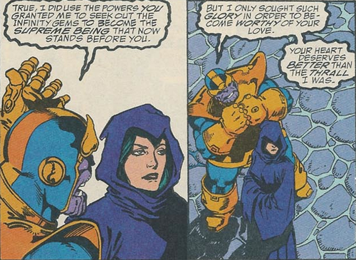 Thanos e Morte