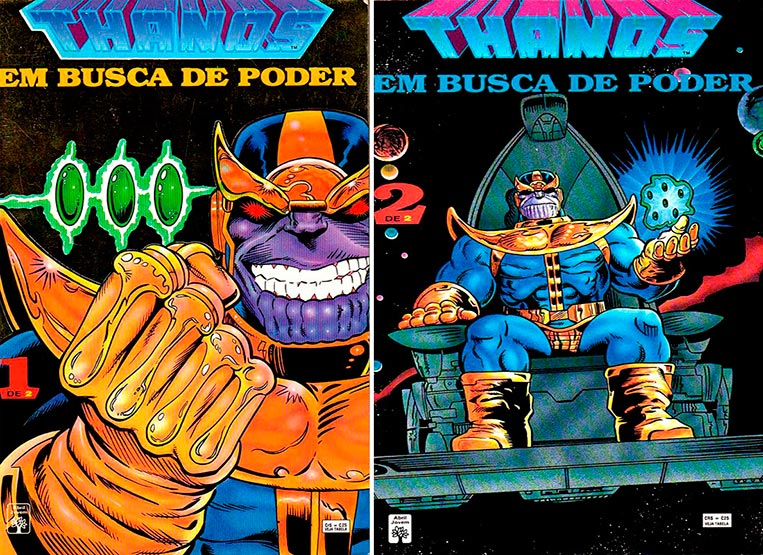 Thanos - Em Busca de Poder