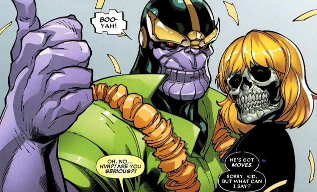 Thanos já foi imortal