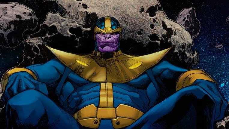 Thanos conquista Titã