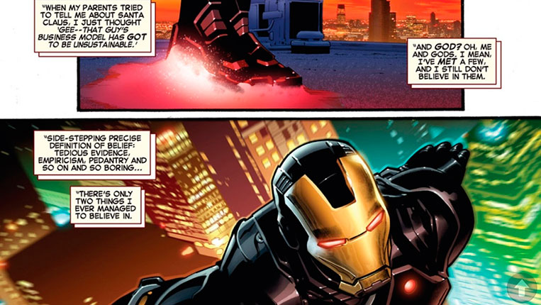 Tony Stark é ateu