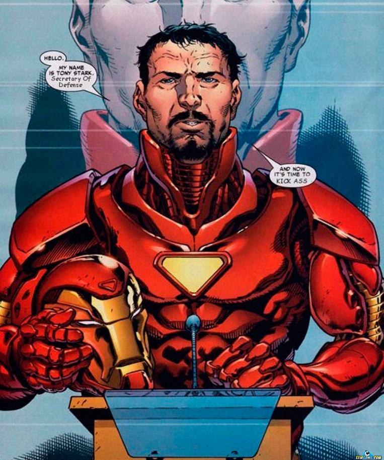 Tony Stark secretário da defesa dos EUA