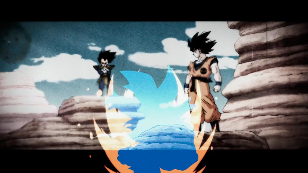 Vegeta e Goku Dragon Ball Super episódio 130