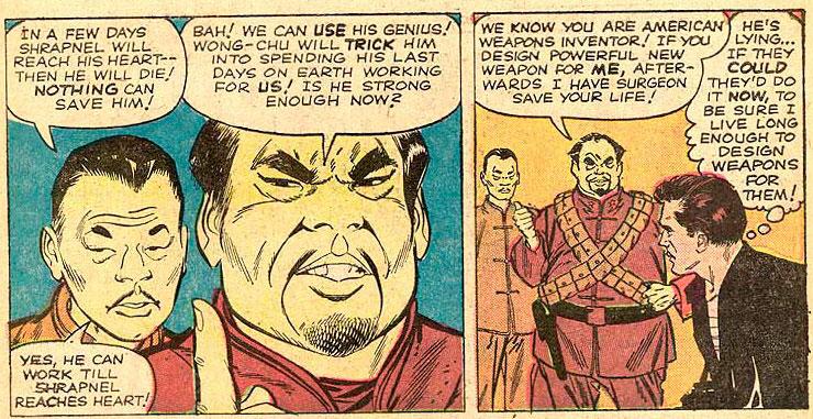 Wong-Chu e Tony Stark