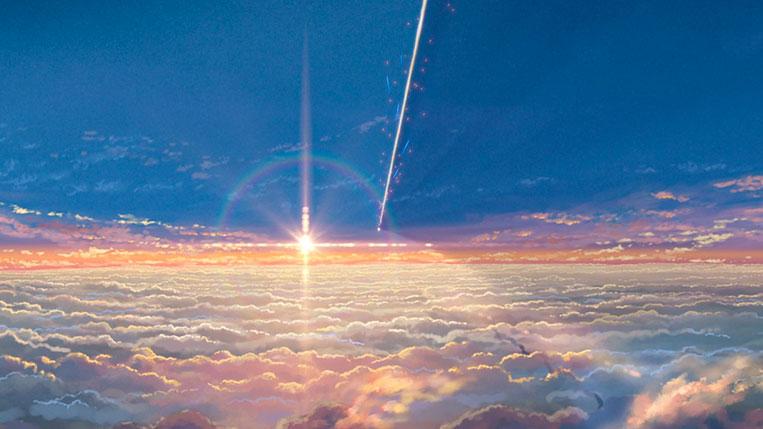 Your Name (Kimi no Na wa) queda do meteoro