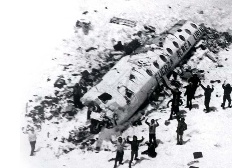 Voo Força Aérea Uruguaia 571, Cordilheira dos Andes (1972)