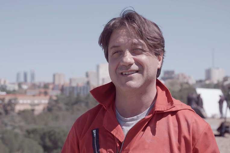 Arturo Román (Enrique Arce) La Casa de Papel