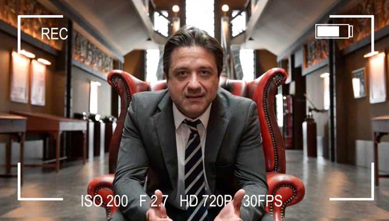 Arturo Román La Casa de Papel parte 1