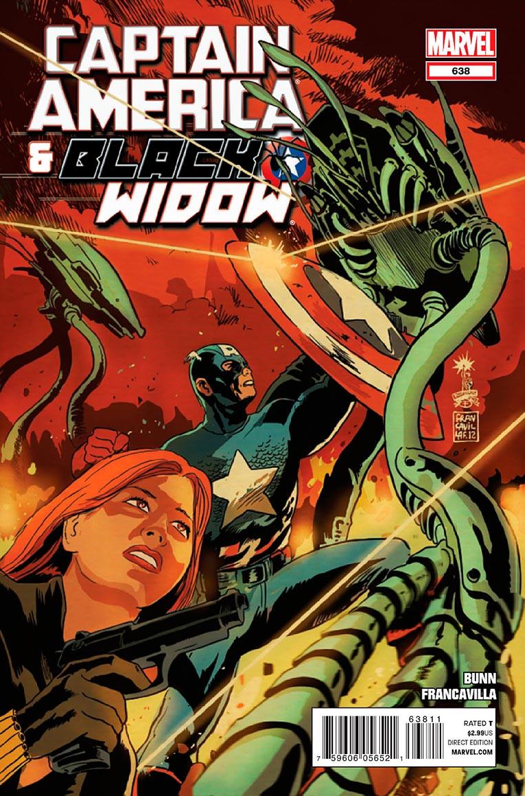 Capitão América e Viúva Negra Vol. 1 638