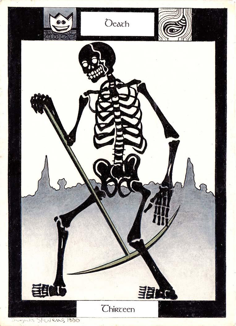 Morte (Carta de Tarô) - Número 13