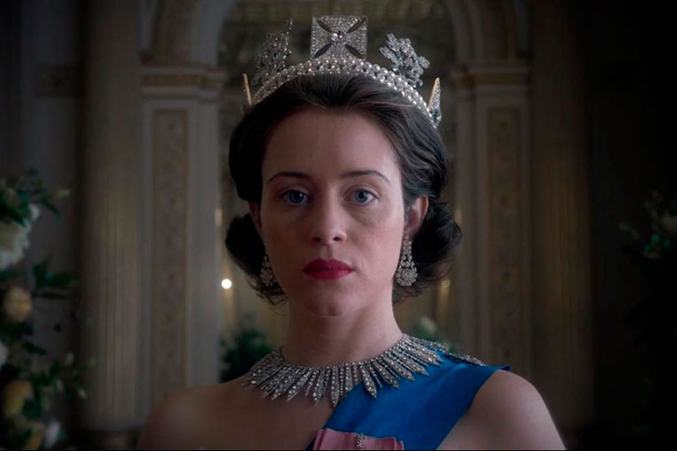 Claire Foy em The Crown (2016)