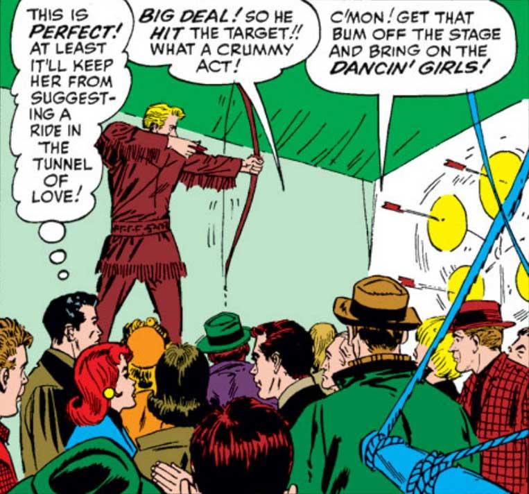 Clint Barton já foi artista de circo