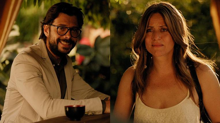 El Profesor e Raquel Murillo final de La Casa de Papel