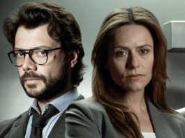 El Profesor e Raquel Murillo La Casa de Papel