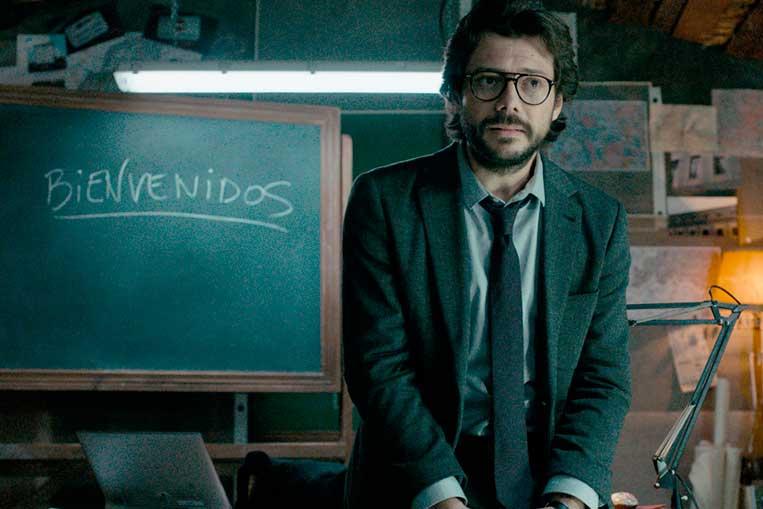 El Profesor (Álvaro Morte) La Casa de Papel