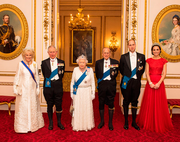 Família real britânica - The Crown