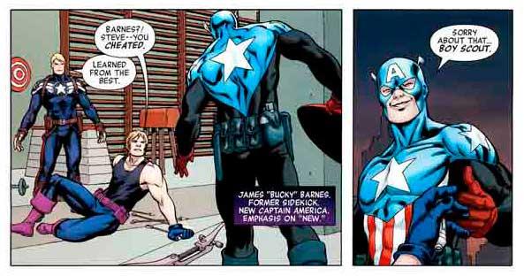 Gavião Arqueiro X Capitão América