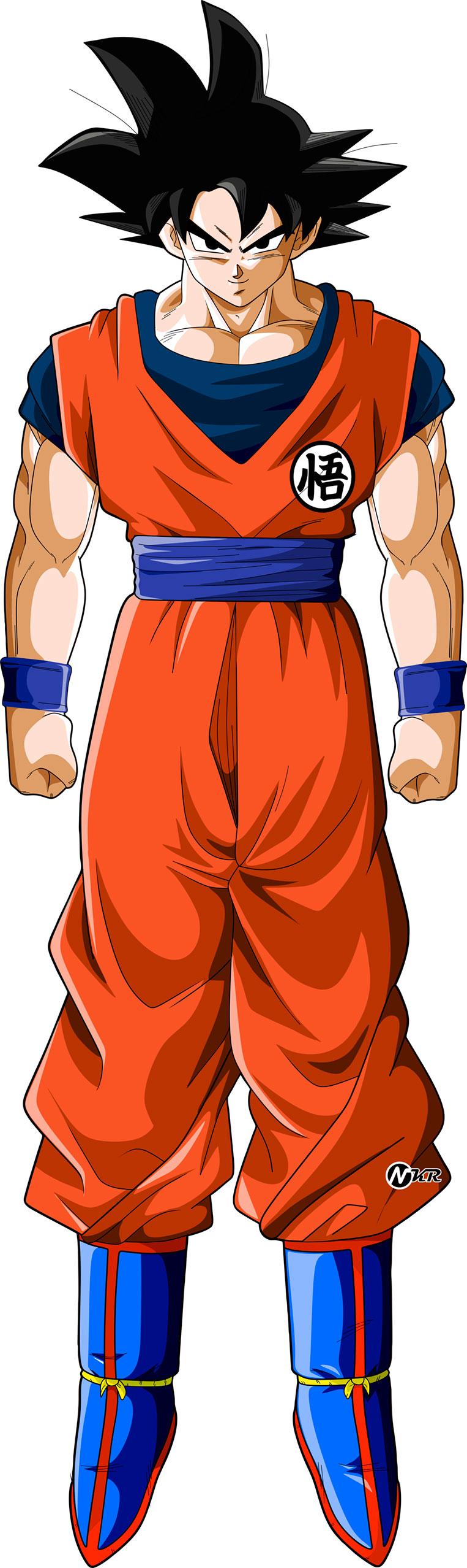 Goku na forma base