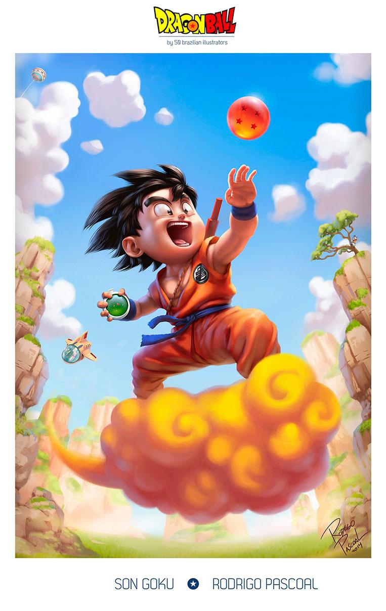 Goku em busca das Esferas do Dragão