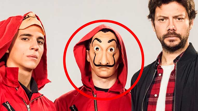 Novo personagem La Casa de Papel Netflix