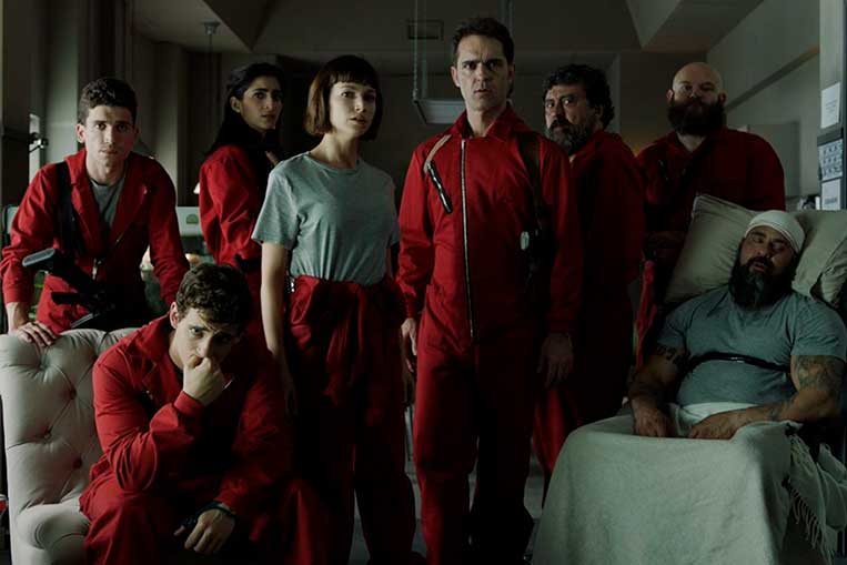 Personagens La Casa de Papel parte 1