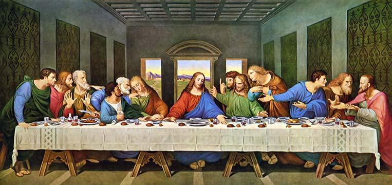 Última Ceia (Santa Ceia), Leonardo da Vinci