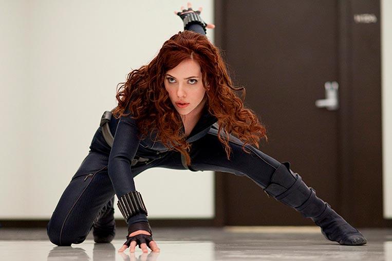 Scarlett Johansson em Homem de Ferro 2 (2010)
