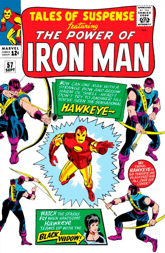 Tales of Suspense Vol. 1 57