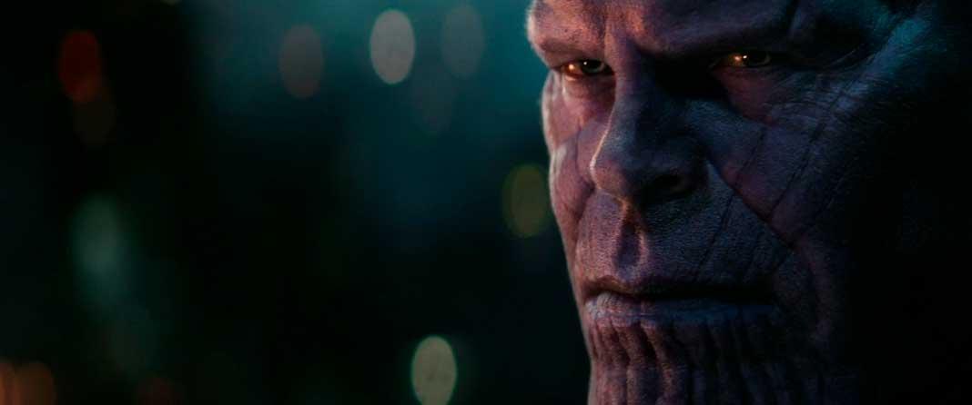 Thanos em Vingadores: Guerra Infinita