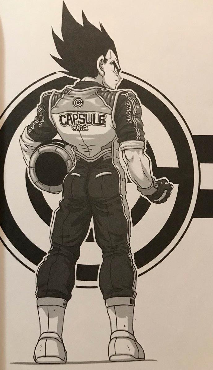 Vegeta uniforme da Corporação Capsula 17