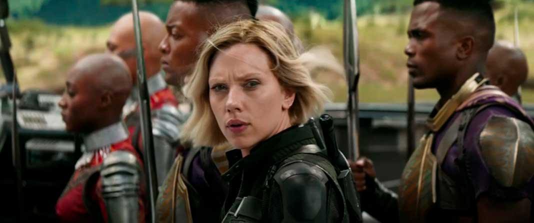 Viúva Negra em Wakanda - Vingadores: Guerra Infinita