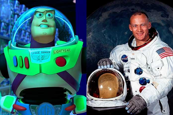 Buzz Lightyear foi inspirado no astronauta Buzz Aldrin