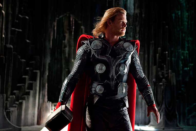 Chris Hemsworth (Thor) em Thor (2011)