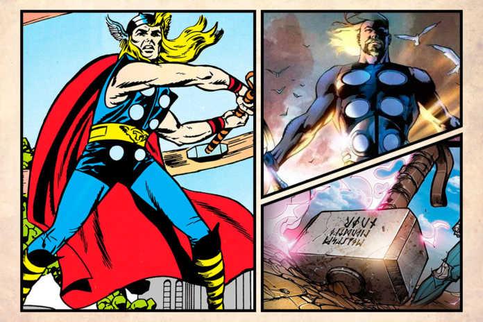 Curiosidades Thor Marvel