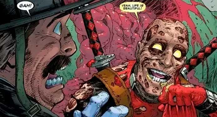 Deadpool Arma X