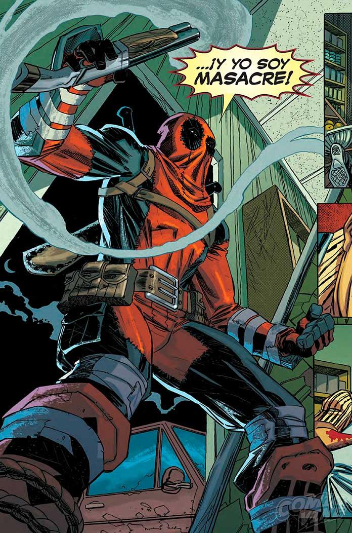 Deadpool fala espanhol