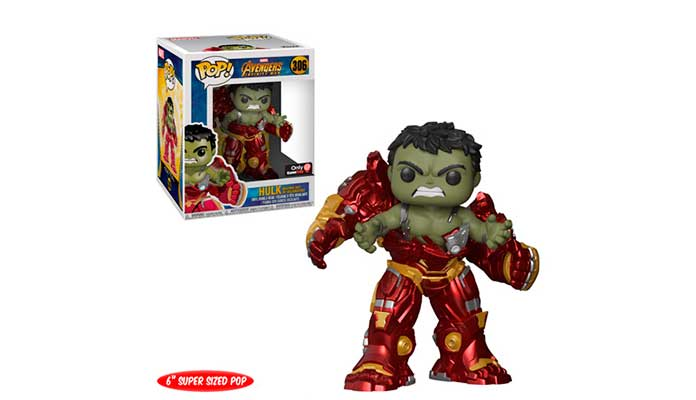 Funko Pop! Hulk dentro da Hulkbuster