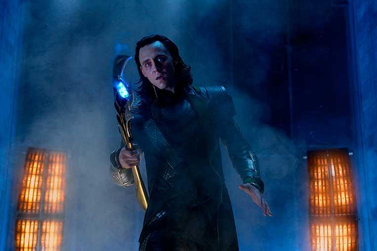Tom Hiddleston (Loki) Os Vingadores (2012)