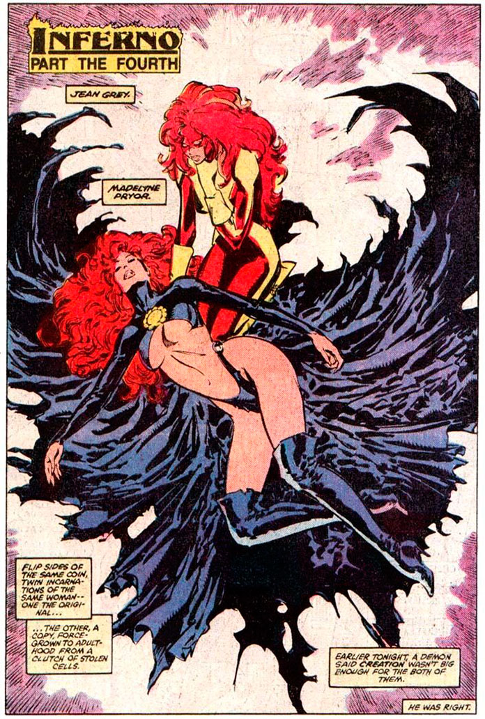 Madelyne Pryor e Jean Grey