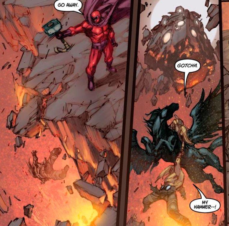 O Magneto já levantou o Mjolnir