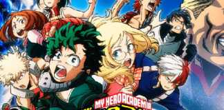 Novos personagens do filme de Boku no Hero Academia