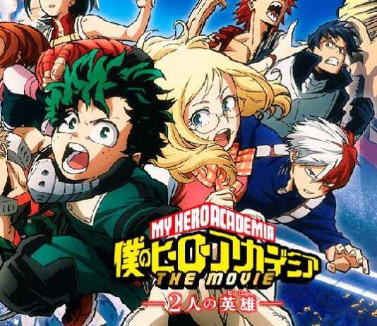 Novos personagens do filme de Boku no Hero Academia