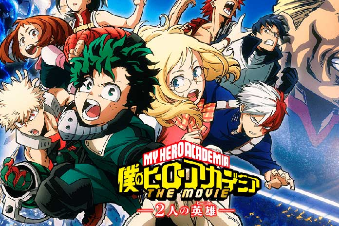 Boku No Hero Academia Visual Do Filme Revela Personagens